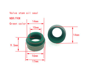 Valve stem oil seal for auto spare parts  OEM