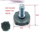 Rubber feet for washing machine keep balance support